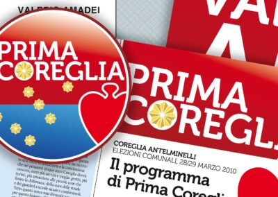 Prima Coreglia. Campagna elettorale 2010