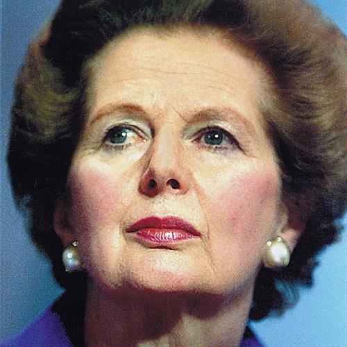 La Thatcher fuori dai giochi…