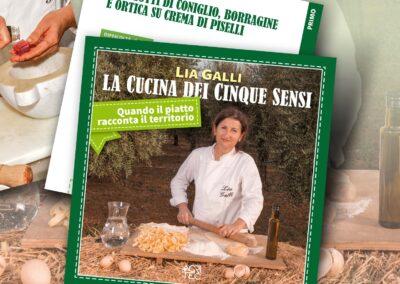 Lia Galli. La cucina dei cinque sensi