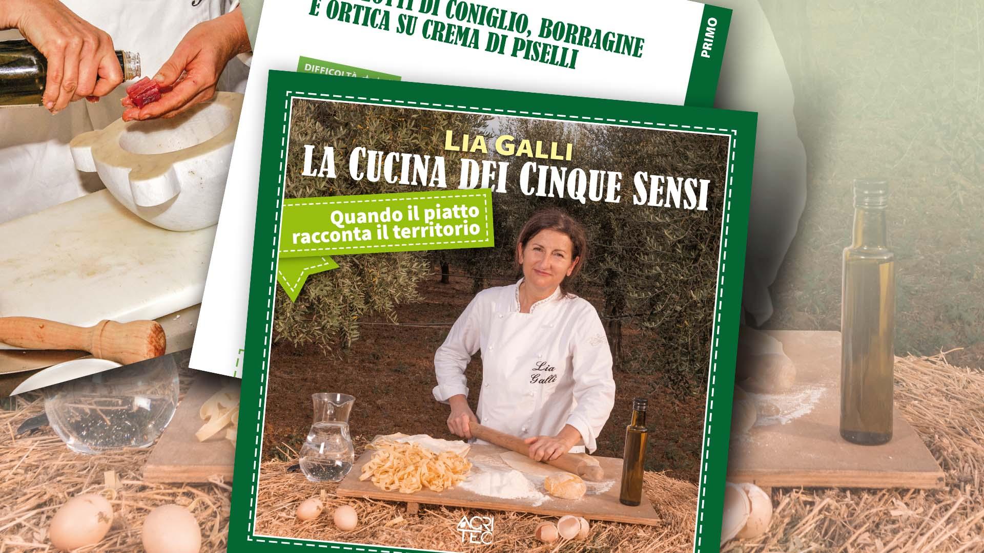 Lia Galli, La cucina dei cinque sensi, apertura