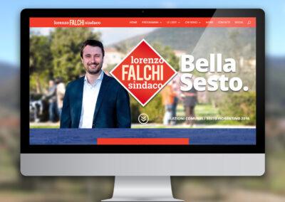 Lorenzo Falchi sindaco di Sesto Fiorentino. Campagna elettorale 2016