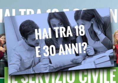 Patronato Inac Toscana. Campagna per il Servizio civile regionale