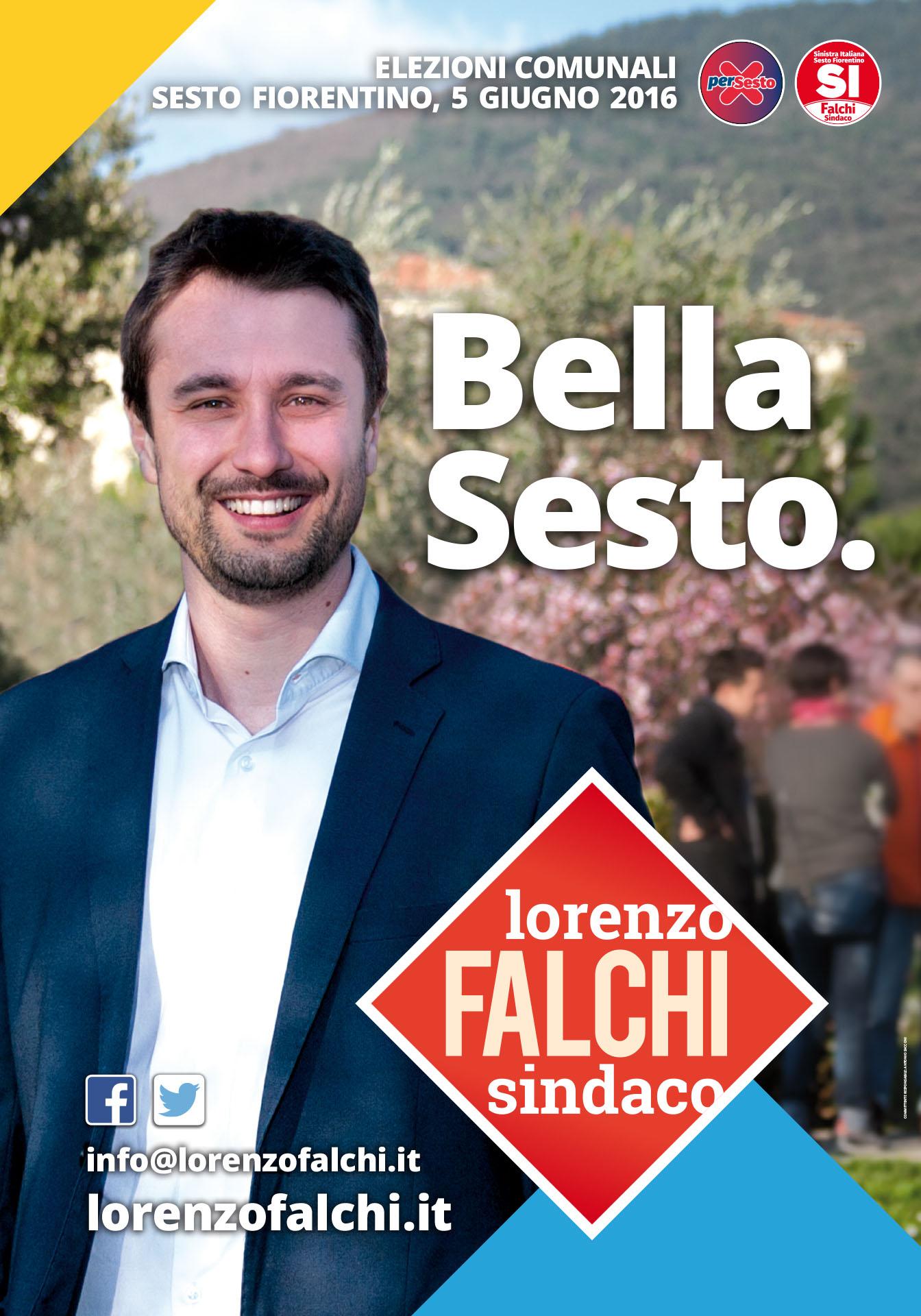 Lorenzo Falchi | Manifesto 70x100 cm