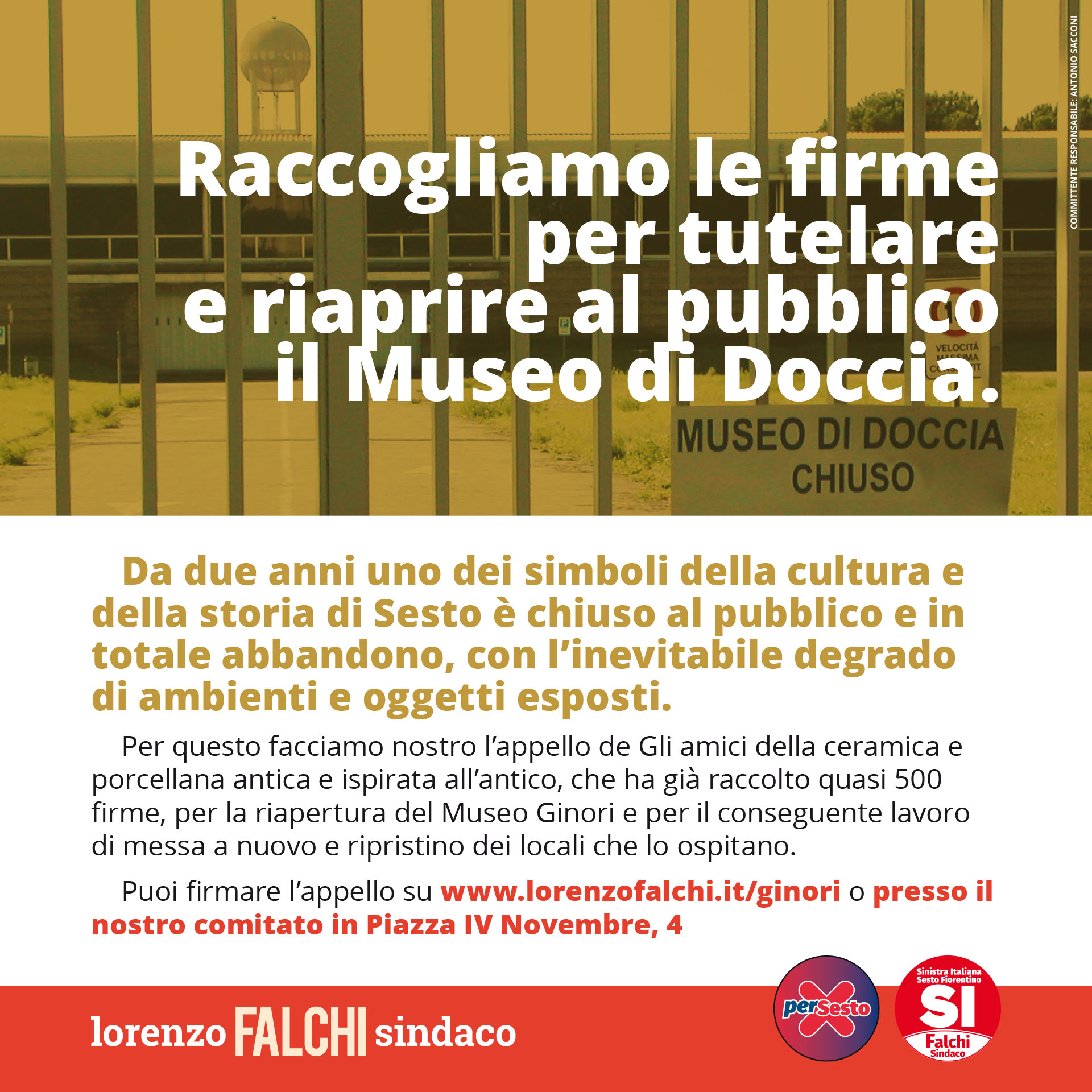 Lorenzo Falchi | Flyer cultura