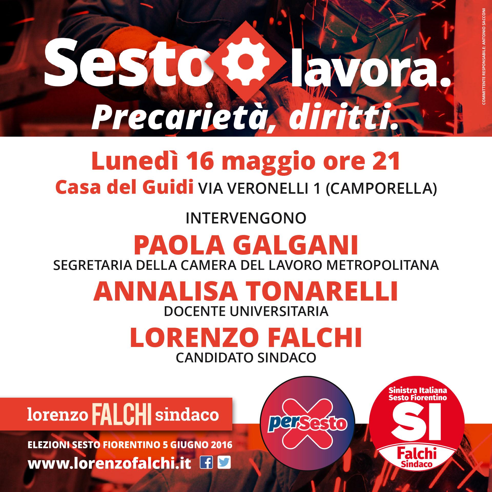 Lorenzo Falchi | Flyer lavoro