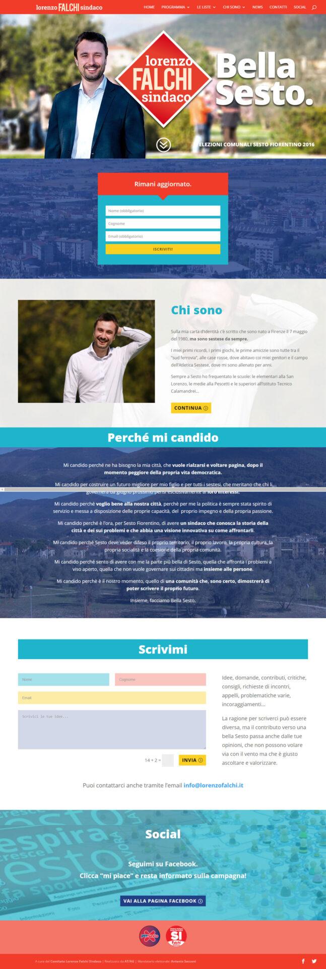 Lorenzo Falchi | Sito internet