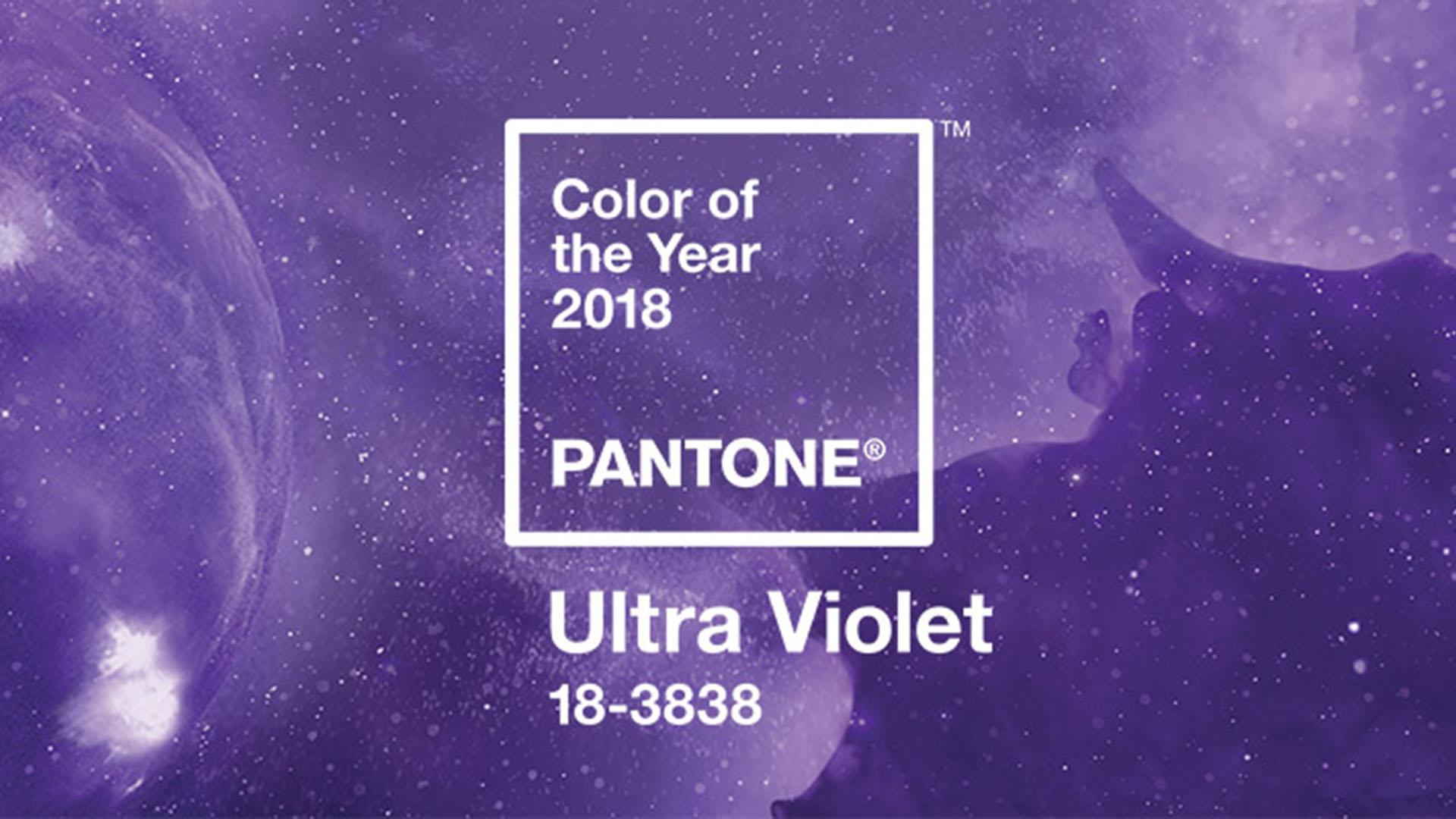 Ultra Violet. Il colore Pantone dell'anno 2018