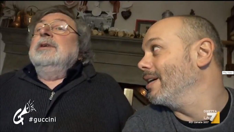 Diego Bianchi (Zoro) intervista Francesco Guccini nella sua casa di Pavana