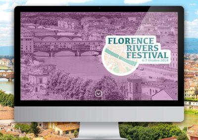 Florence Rivers Festival. Sito internet e comunicazione
