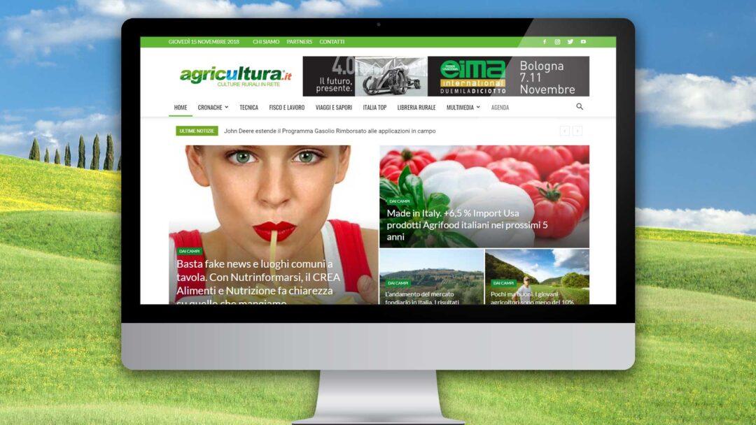 Agricultura. Sito internet