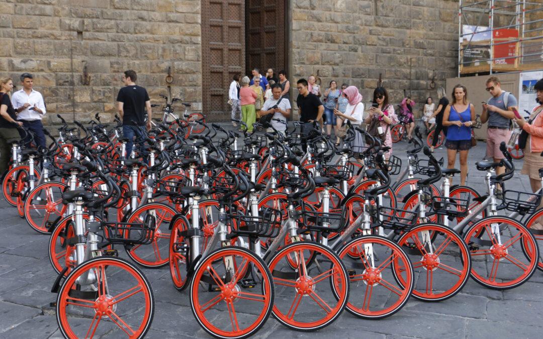 Firenze. In due anni con il bike sharing meno 500 tonnellate di CO2