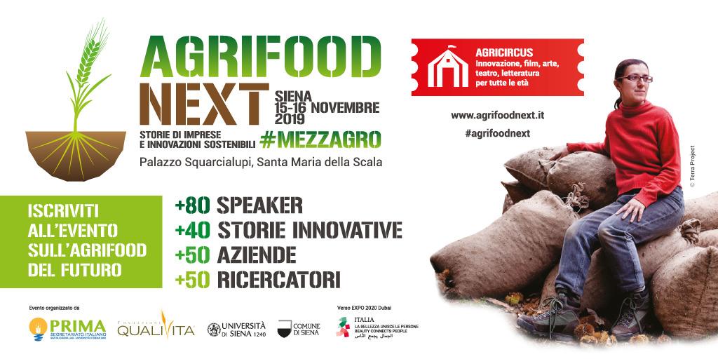 L'innovazione in agricoltura. Il 15 e 16 novembre Agrifood Next a Siena