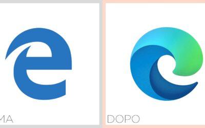 Microsoft. Il browser Edge cambia logo (ma soprattutto motore)