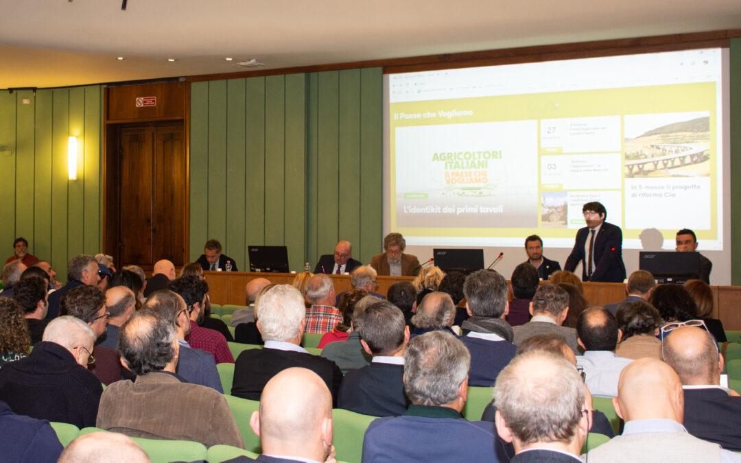 """""""Il Paese che vogliamo"""" riparte da Firenze e dalla centralità dell'agricoltura"""