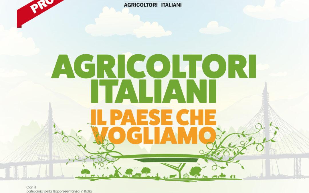 """L'agricoltura e """"Il Paese che vogliamo"""". Convegno Cia a Firenze il 27 novembre 2019."""