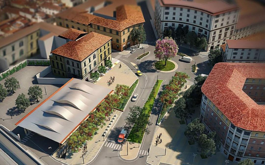Design e riqualificazione. Sabato 30 novembre Firenze inaugura la nuova piazza delle Cure