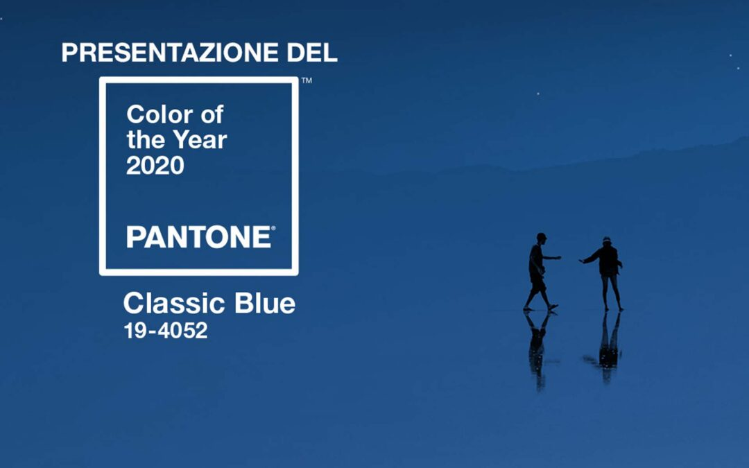 Classic Blue. È arrivato il colore Pantone 2020