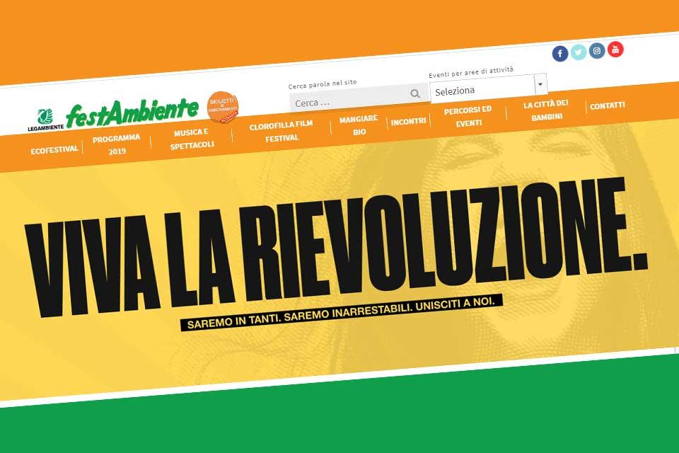 """Arriva la """"Rievoluzione"""" di Festambiente 2020. Dal 12 al 16 agosto 2020 in Maremma"""