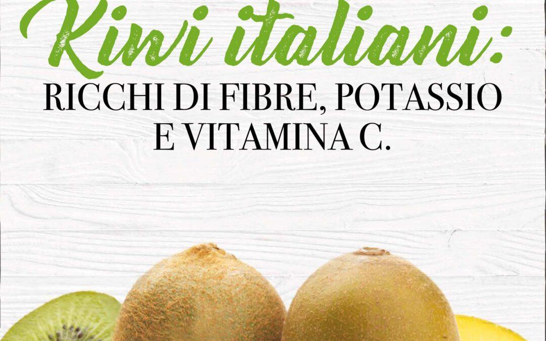 Arance e kiwi italiani. Per il fabbisogno quotidiano di vitamina C, antiossidanti e sali minerali