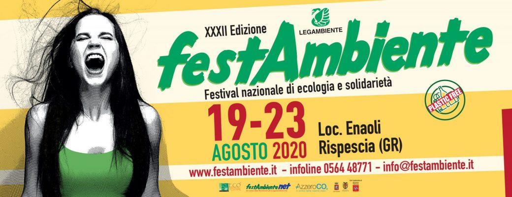 Festambiente torna dal 19 al 23 agosto. A Rispescia in Maremma il Festival nazionale di Legambiente