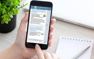 Nuovo canale Telegram per le news su agricoltura e aree rurali della Toscana