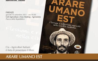 """""""Arare umano est"""", presentazione del libro di Riccardo Lupino. Giovedì 16 settembre 2021 alle 18"""