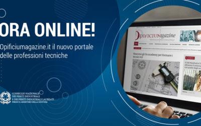 Opificiumagazine.it è online